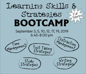 Learning Skills & Strategies Bootcamp