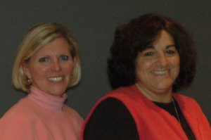 LTR founders Cheri McManus and Dianne Melim.