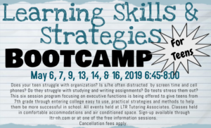 Learning Strategies Bootcamp